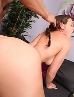 Monster Curves Presents Callie Calypso in Willing For Action- Vids And Images