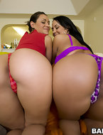 Huge big asses and fat titties bouncing all over the place.